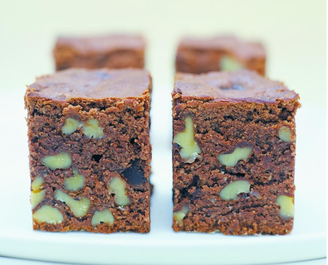 The Healthy Chef, Gluten-Free Brownies